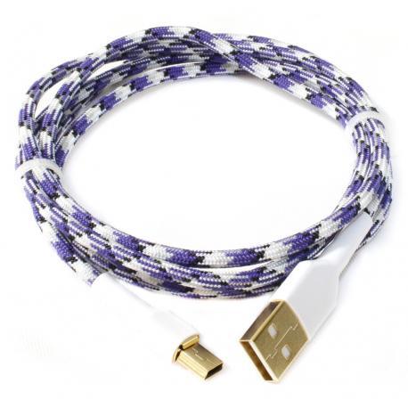 Hyperfuse USB Cable - Plasma Purple