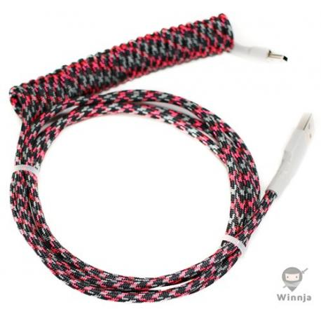 Coiled GMK 80s Kids USB Cable
