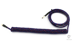 Coiled Barney Attitude and Purple PET