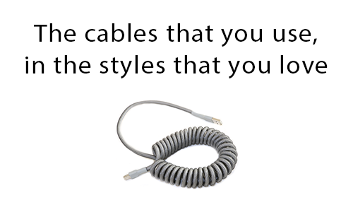 Winnja: The cables that you use, in the styles that you love